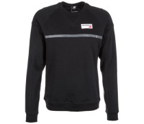 'Athletics Crew' Sweatshirt schwarz
