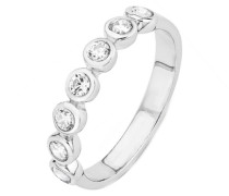 Ring mit Zirkonia »So1410/1-4« silber