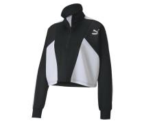 Sweatshirt weiß / schwarz