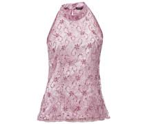 Paillettenbluse rosa