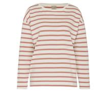 Streifenshirt 'Sfnatali' pink / weiß