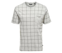 Kurzärmeliges T-Shirt grau