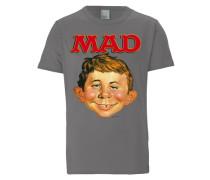 T-Shirt Alfred E. Neumann - MAD grau