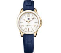 Armbanduhr »Casual Sport« blau / gold