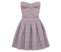 Bandeau-Kleid in Mini-Länge lavendel