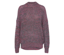 Pullover 'metallic' pink