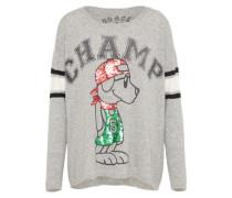 Pullover 'champ' grau