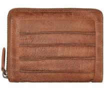 FREDsBRUDER Riffeltier Small Geldbörse Leder 13 cm braun