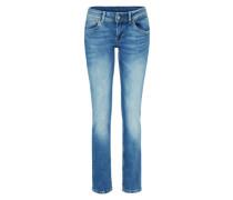 'Saturn' Straight Fit Jeans blau