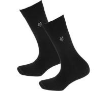 Ida 2 Paar Socken schwarz
