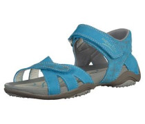 'Sandalen' blau / himmelblau / grau