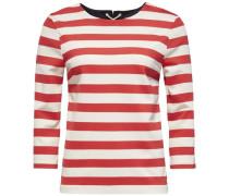 Shirt (mit Arm) »Linnet Round NK TOP 3/4 Slv« weiß