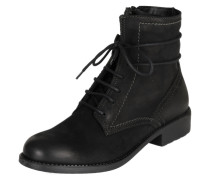 Stiefel mit Schnürung schwarz
