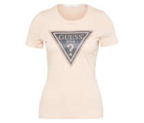 T-Shirt 'shiny Night' puder