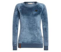 Female Sweatshirt Mackin da Hoes III blau