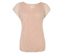 Gemustertes Shirt rosé