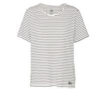 Shirt 'Essential SS' schwarz / weiß