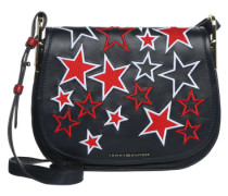 Umhängetasche 'Iconic Saddle Bag Stars' navy