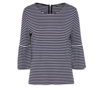 Shirt 'Daniela' navy / offwhite