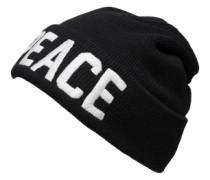 Mütze mit Stitching 'Vaixo' schwarz