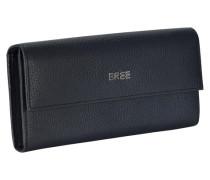 Nola 100 Geldbörse Leder 19 cm schwarz