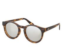 Runde Sonnenbrille 'Hey Macarena' braun