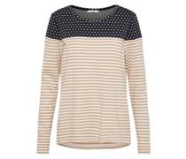 Pullover beige / blau