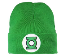 Strickmütze - Green Lantern – Logo grün