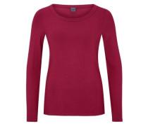 Schlichtes Jersey-Shirt pink
