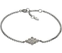 Armband mit Glassteinen »Vintage Glitz Jf02320040« silber