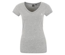 Shirt 'Eyben V' graumeliert