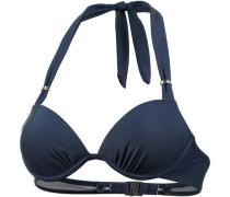 Bikini Oberteil Damen dunkelblau