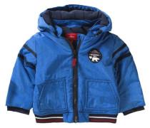Winterjacke mit Polarfleece Futter für Jungen blau