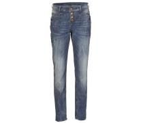 Boyfriend-Jeans blau