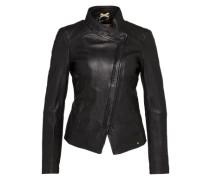 Jacke aus Schafsleder 'Jopida2' schwarz
