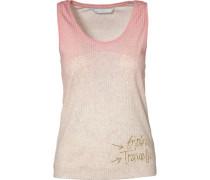Top beige / rosa