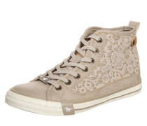 Sneaker 'Macrame' beige