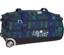 Sport 2-Rollen Reisetasche 71 cm dunkelblau / grün / mischfarben