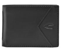 Cancun Geldbörse Leder 11 cm schwarz