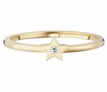 Fingerring 'Stern' gold