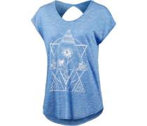 T-Shirt 'Got Your Back' himmelblau