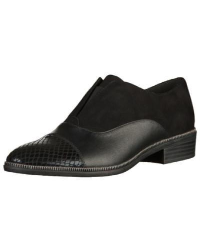 tamaris damen tamaris slipper schwarz reduziert. Black Bedroom Furniture Sets. Home Design Ideas