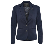Jersey- Blazer blau