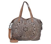 'Echinacea Shopper' Tasche 46 cm grau