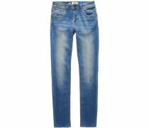Slim-fit-Jeans 'imogen' blue denim