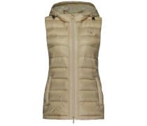 Weste 'haley Down Vest' beige