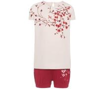 Shorts-Set 'nitzora' rot / weiß