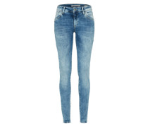 'adriana' Skinny Jeans blue denim