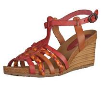 Sandalen braun / rot