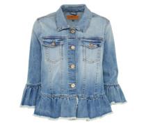 Jeans Jacke 'onlSIA' blue denim